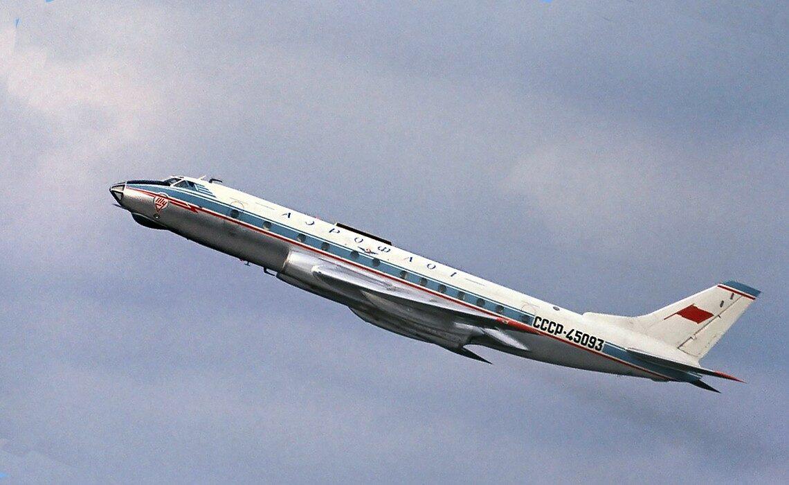 samolot aerofłotu